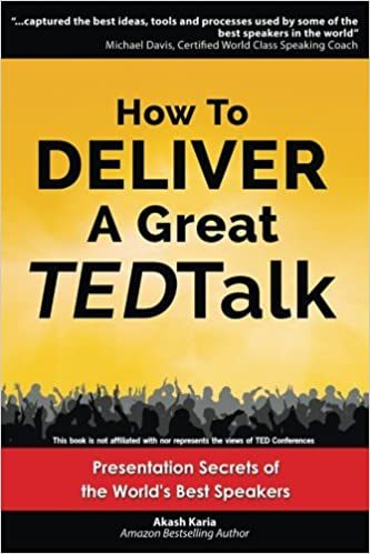 Book Cover - How To Deliver A Great TED Talk