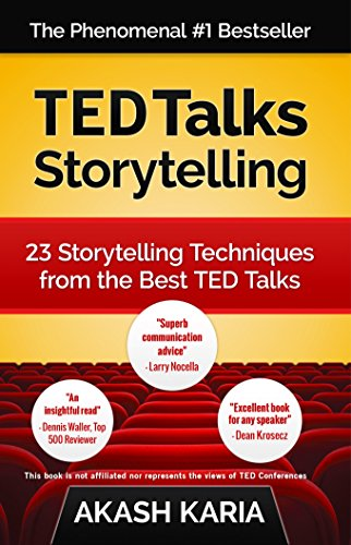 Book Cover TED Talks Storytelling